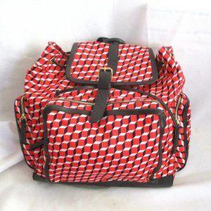 NEW PIERRE HARDY BACKPACK RUCKSACK CUBE PRINT Bag